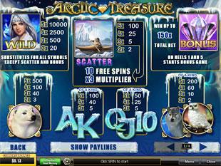 free Arctic Treasure slot mini symbol