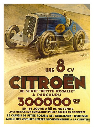 011-Old Vintage Antique Classic Car Posters