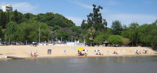 parana river beach