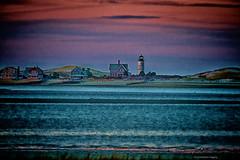 Nightfall on the Light (Profcjgregory) Tags: lighthouse neck sandy panoramafotogrfico