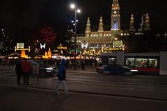 Christmas market near Rathaus, Vienna (k.dmitrijewa) Tags: vienna wien christmas digital canon weihnachten austria europe eu rathaus  40d canon40d  pennyjey