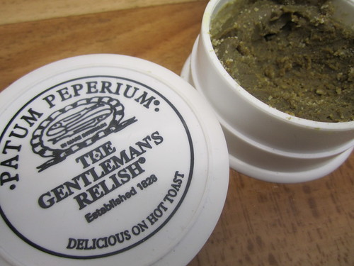 Slightly Peckish: Gentleman's Relish 4