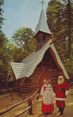 Santa's Village (The Pie Shops Collection) Tags: california christmas vintage illinois postcard santaclaus mrsclaus santasvillage