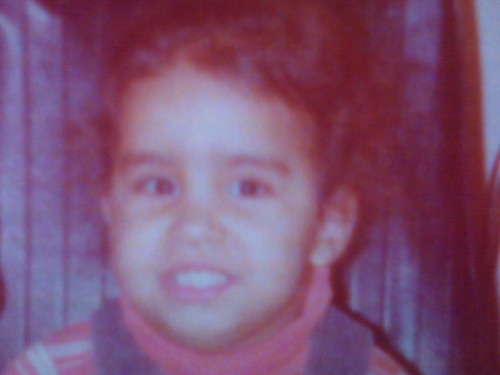 baby me - about 4 yrs old