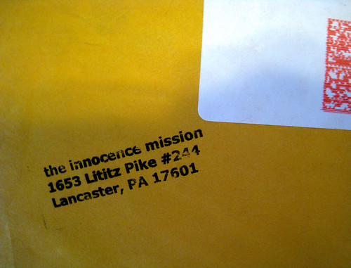 innocence mission mail