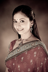 [フリー画像] 人物, 女性, アジア女性, インド人, 201012010900