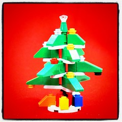 Last year's Lego tree