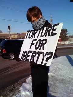 Anti-Torture Vigil - Week 2