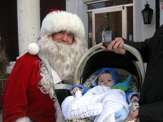 Santa with KFP
