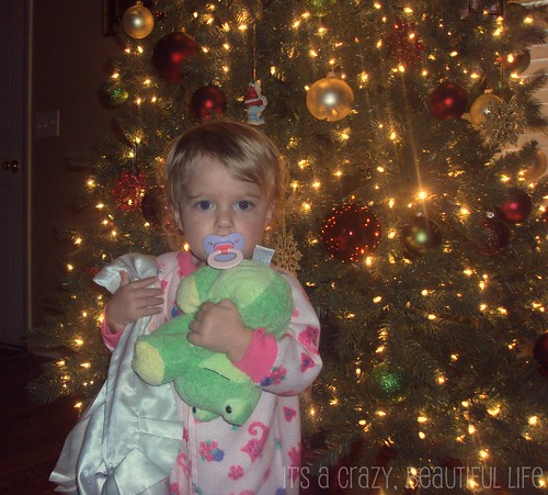 Addison and the tree