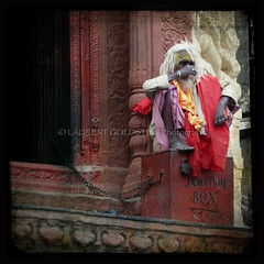 The Soul Keeper (designldg) Tags: life people india man dreadlocks square death humanity expression atmosphere soul elder varanasi yogi spiritual shiva devotee hinduism kashi ascetic mankind saddhu benares benaras tantric uttarpradesh  aghori bhairava ascet