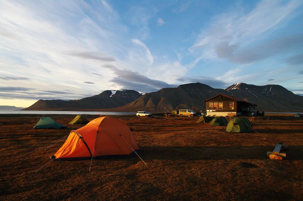 Longyearbyen campsite