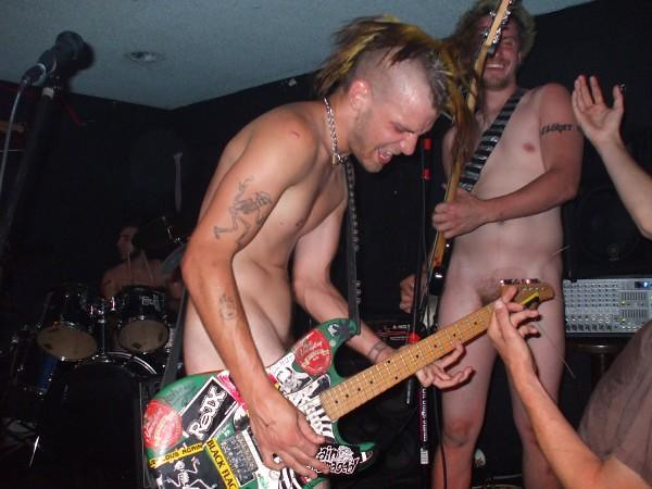 naked asin punk women