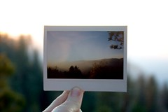 Instax Yosemite, California (KayVee.INC) Tags: california sunset roadtrip yosemite yosemitenationalpark instax day1wade