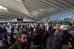 Huelga de controladores aéreos en Aeropuerto d...