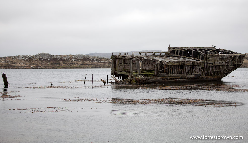 Falkland Islands, Standley, Shipwreck