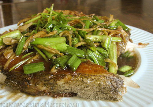 Fried Fish with Ginger Soy Sauce
