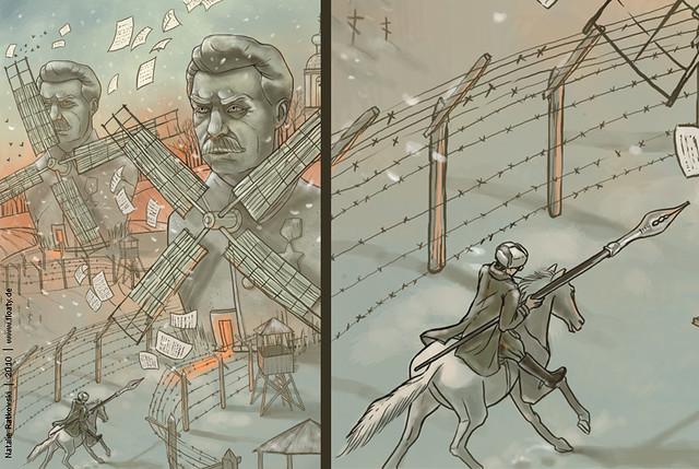 Wassili Grossman vs. regime, detail