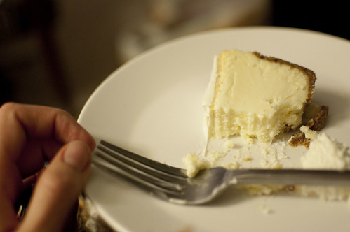cheesecake, eaten