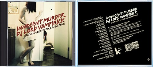 grafica Innocent Murder (booklet)