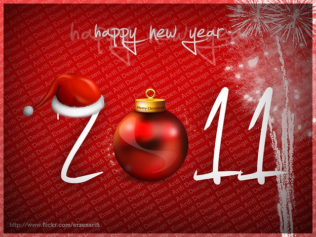 Happy New Year 2011, Wallpapers and Calendar Designs
