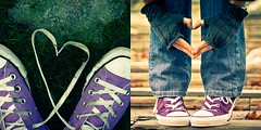 We love Chucks...but only if they are purple (Jaime973) Tags: purple converse chucks hpt dippy teamup happypurpletuesday withthesuperfantastickirstin loveyayourethebestest twofortuesdaysomuchbetterthanone