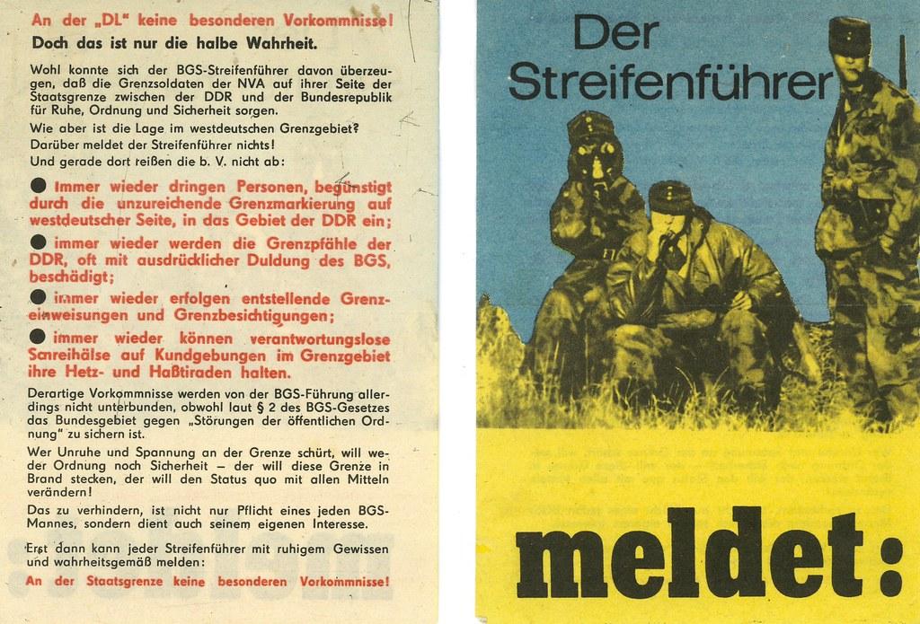 Der Streifenfuhrer Meldet (The Seargeant Announces)