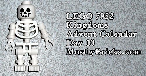LEGO 7952 Kingdoms Advent Calendar – Day 10