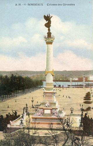 Bordeaux, la colonne des Girondins