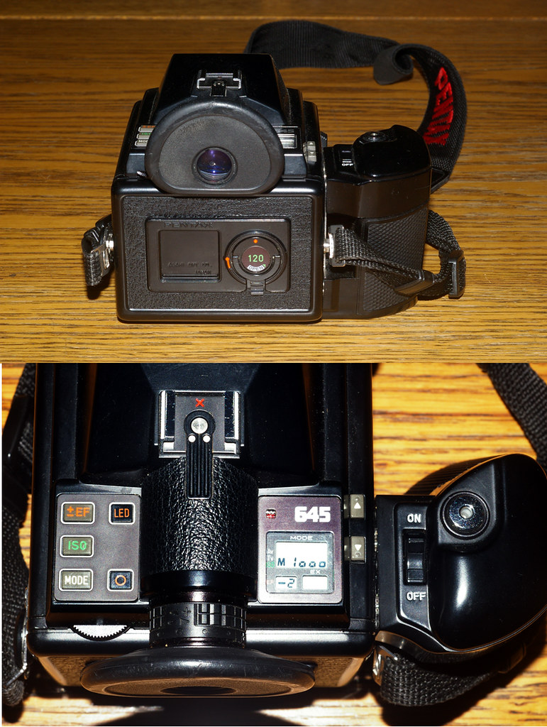 Pentax 645 battery holder - Loading A Pentax 634 C By Nesster On Flickr That S It Except For A Rear View Of The Camera With Insert In Place Turn It On And Nothing Happens