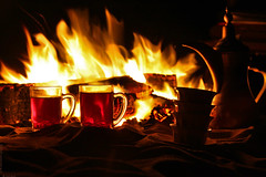 (M...Aman) Tags: coffee night fire tea kuwait arabian mohammad aman            alsalmi