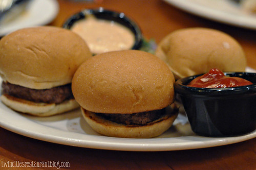 Burger Sliders at Flame ~ Roseville, MN