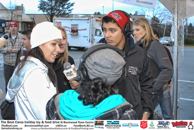 The BEAT CARES holiday food and toy drive at Brentwood Town Centre photos by Ron Sombilon Gallery (745) by Ron Sombilon Gallery