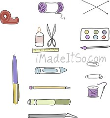 pdf printable craft supplies