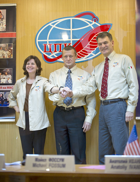 astronautas Expedición 26 ISS NASA