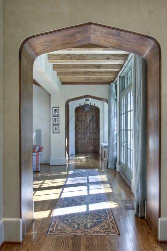 v down hallway