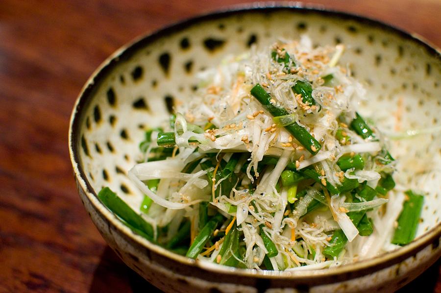 葱と蕪のサラダ|栄喜知