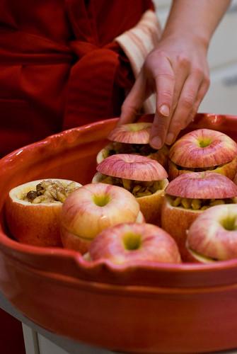 Paulo Robertos fyllda äpplen. Foto: Dominique Forssman, Middagsfrid