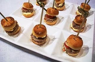 Micro hamburger di pollo, limone e senape - Maria Pia Bruscia