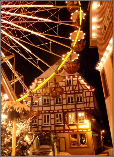Christmas market in Bensheim