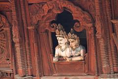 Shiva Parvati Temple (ejhrap) Tags: wood nepal window square vishnu carving lanka kathmandu column durbar sita rama ramayana earthasia dwwg