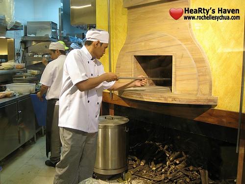 amici wood brick oven
