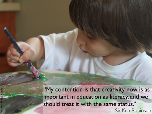 Ken Robinson on creativity by ecastro, on Flickr