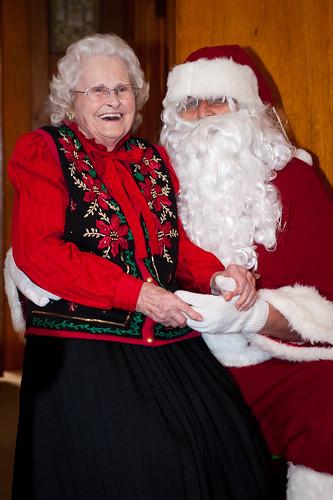 MawMaw and Santa