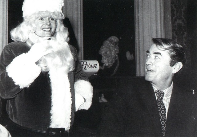 Debbie Reynolds and Gregory Peck