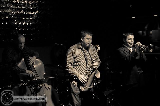 Jason Robinson Quintet at Dizzy's 121810 © Michael Klayman-001