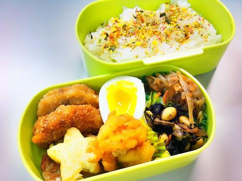 今日のお弁当 No.78 – 緑黄野菜