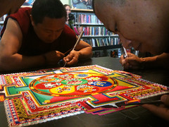 Tibetan Monks bring The Sand Mandala to Vancouver WA