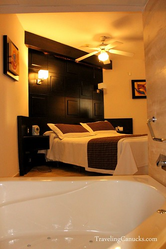 In-suite Jacuzzi at Bavaro Princess Resort