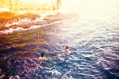 Swimming in Color (Jeremy Snell) Tags: ocean playground swimming island hawaii colorful paradise dream dreamy lovely wonderland mokulua